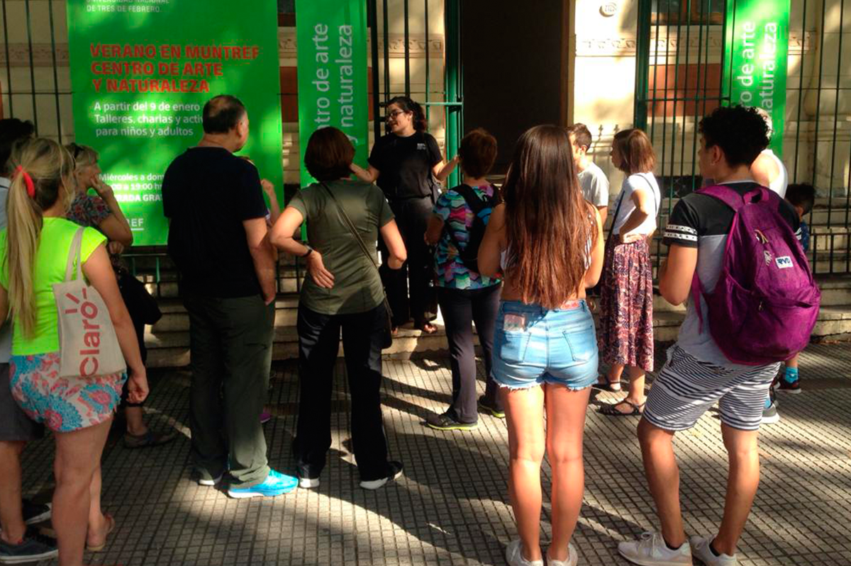 Visita participativa caminada