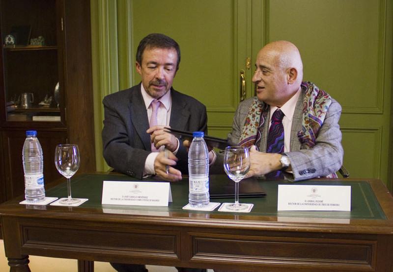 UNTREF firma convenio de cooperación con Univ. Complutense